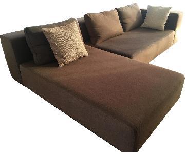 Softline Nevada 2-Piece Sleeper Sectional Sofa