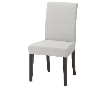 Ikea Henriksdal Cushioned Dining Chairs