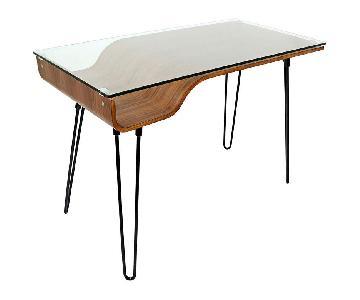 LumiSource Avery Mid-Century Modern Desk