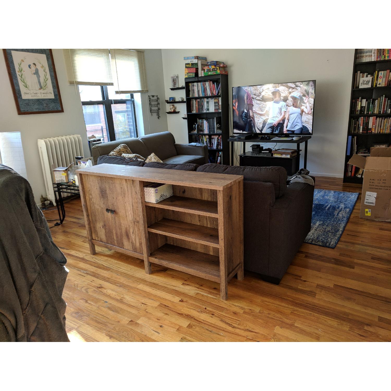 South Shore Furniture Axess Black Bookshelf - image-1