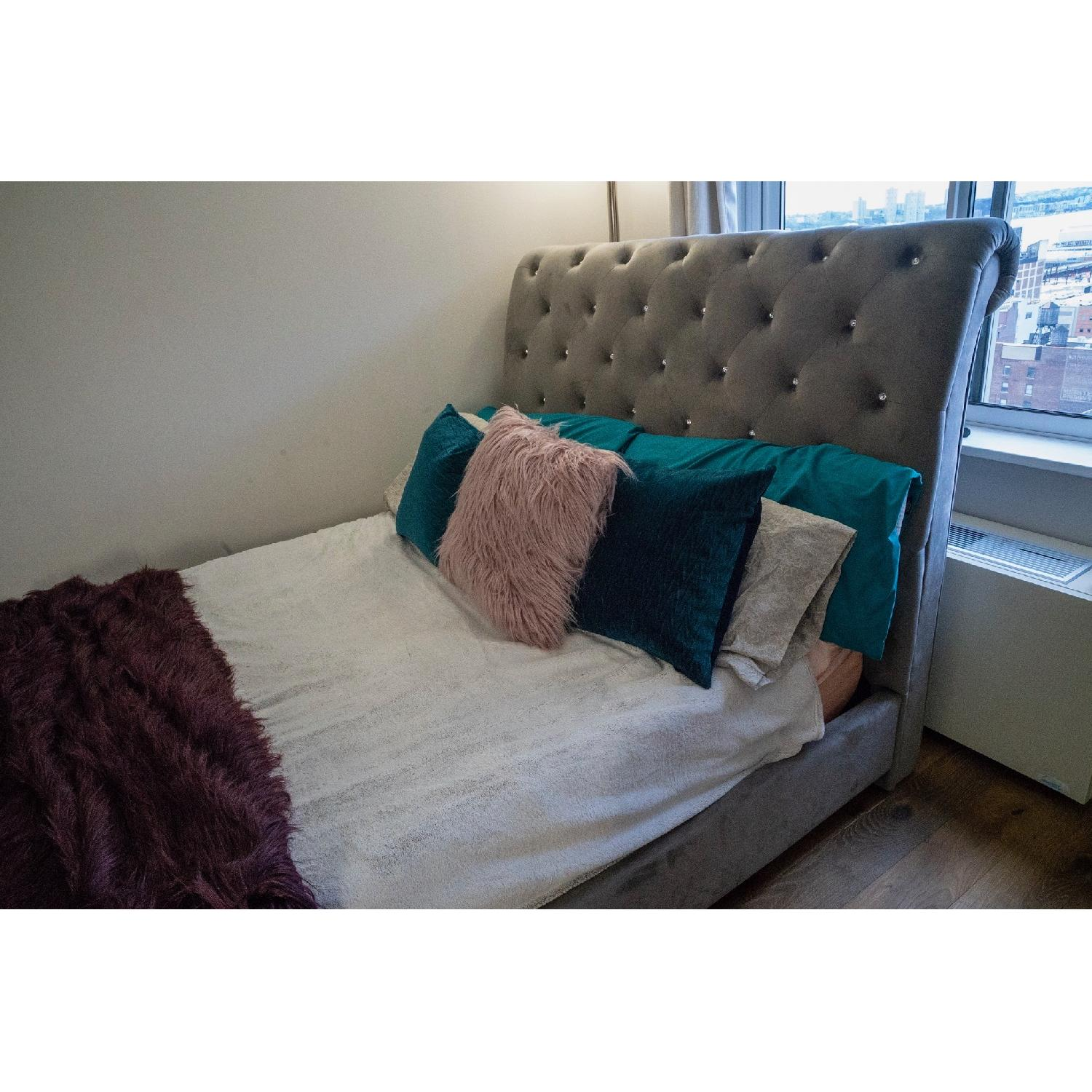 Ashley Cassimore Queen Upholstered Bed - image-1