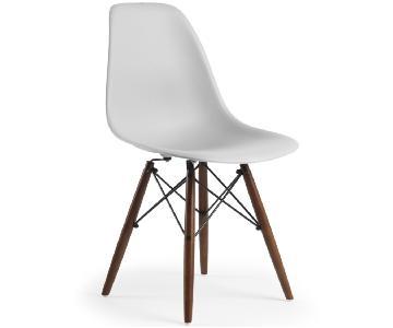 Poly & Bark Vortex Side Chair w/ Walnut Legs