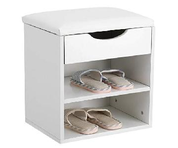 Estink Shoe Storage Bench/Ottoman