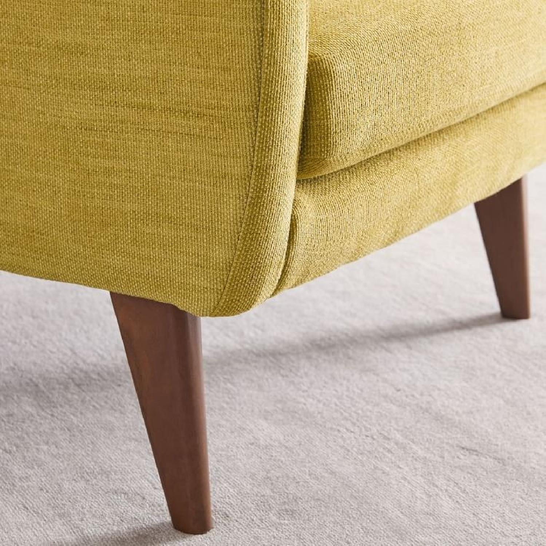 West Elm Sebastian Chair in Dark Horseradish - image-2