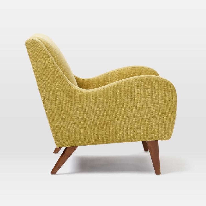 West Elm Sebastian Chair in Dark Horseradish - image-3