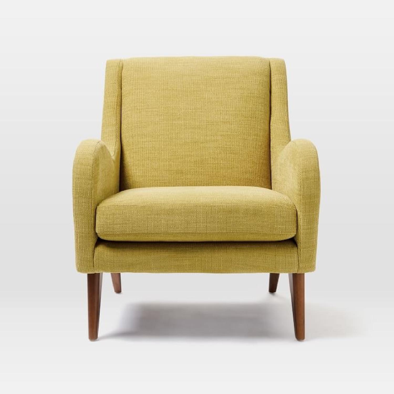 West Elm Sebastian Chair in Dark Horseradish - image-5