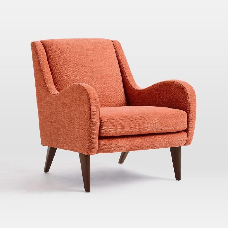 West Elm Sebastian Chair in Desert Sunset - image-1
