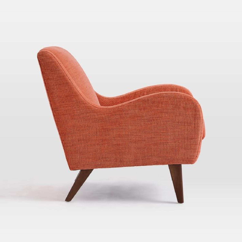West Elm Sebastian Chair in Desert Sunset - image-3