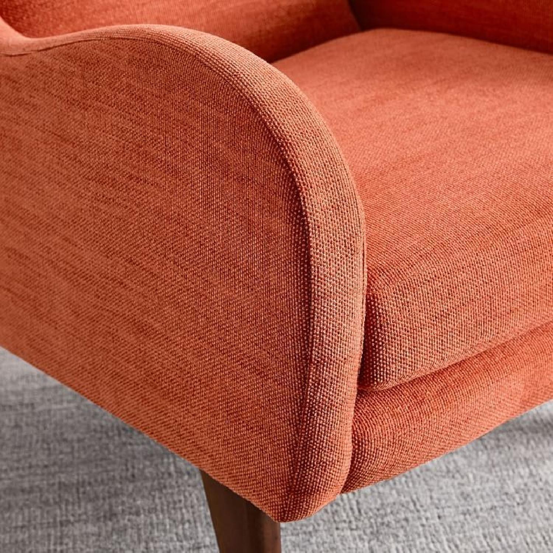 West Elm Sebastian Chair in Desert Sunset - image-4