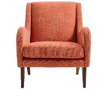 West Elm Sebastian Chair in Desert Sunset