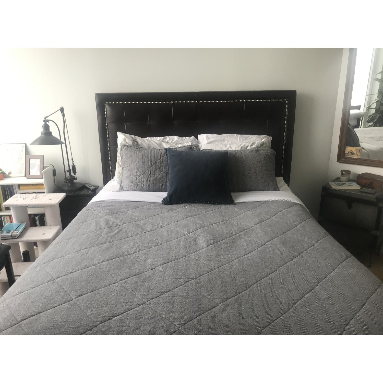 Arhaus Lenox Leather Queen Bed - image-3