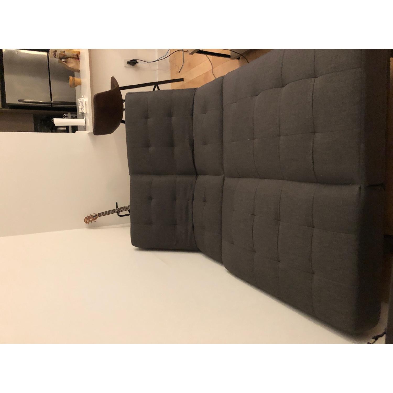 Wade Logan Haysi Futon Lounger Convertible Sofa - image-3