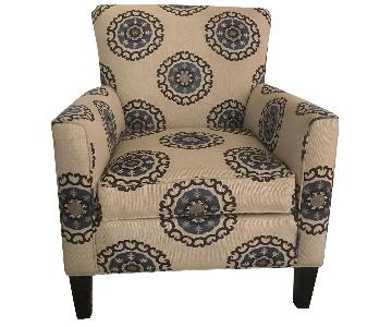Ethan Allen Patterned Chair
