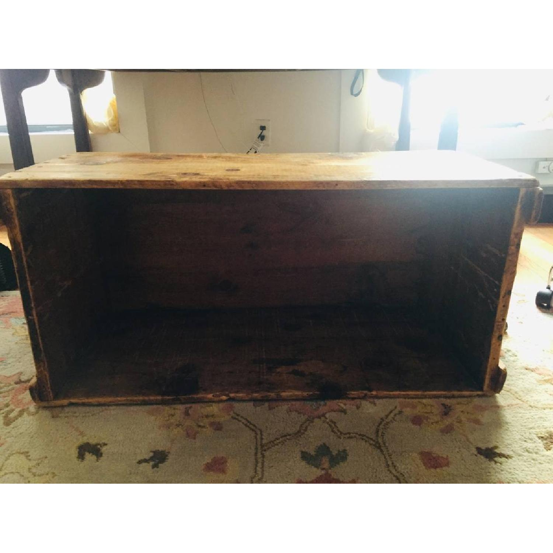 Katz Toy Corp. Antique NYC Wood Crate - image-1