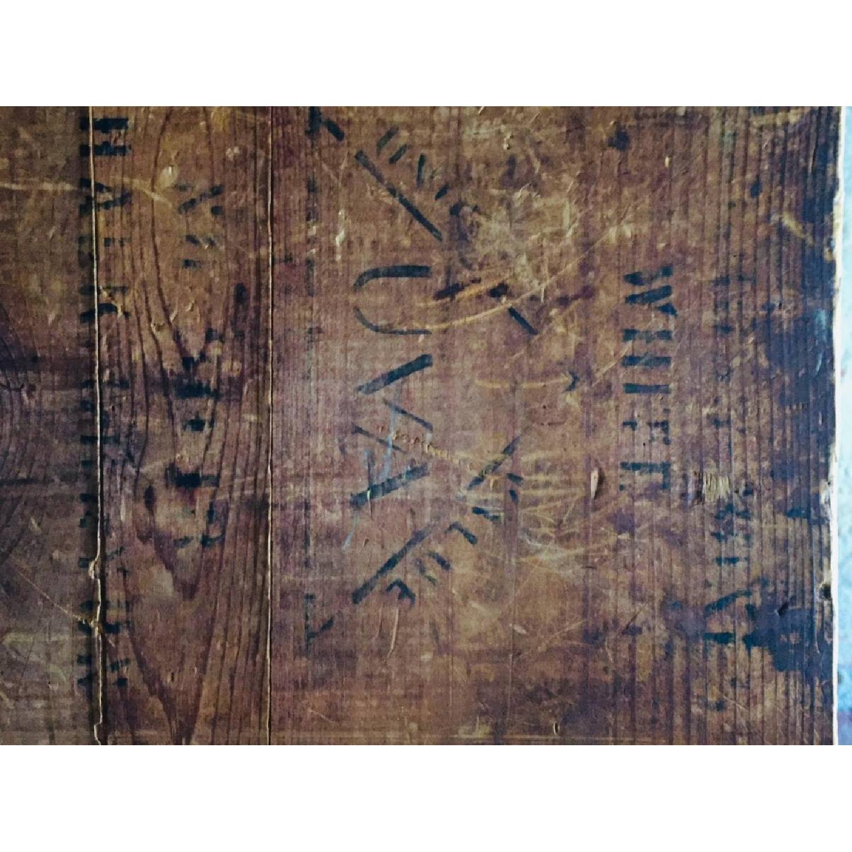 Katz Toy Corp. Antique NYC Wood Crate - image-5