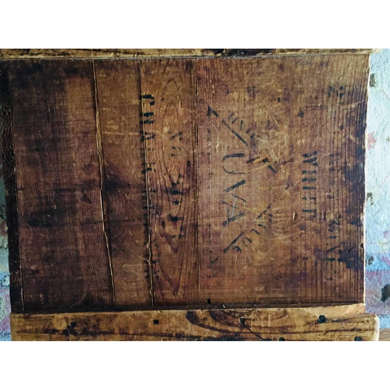 Katz Toy Corp. Antique NYC Wood Crate - image-7