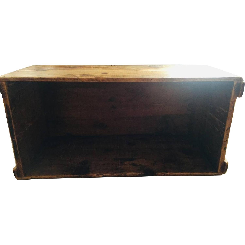 Katz Toy Corp. Antique NYC Wood Crate - image-0