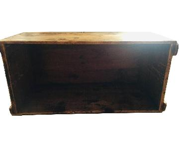 Katz Toy Corp. Antique NYC Wood Crate