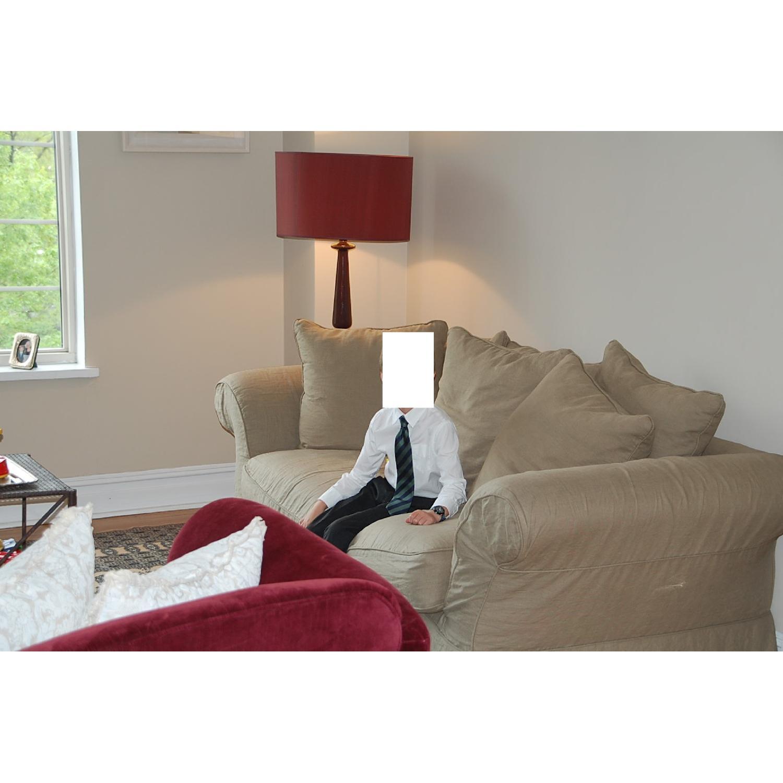 Shabby Chic Rachel Ashwell Floris Sofa - image-1