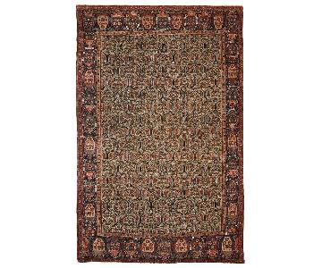 Antique Handmade Persian Farahan Rug