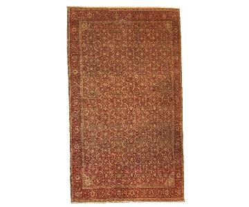 Antique Handmade Indian Amritsar Rug