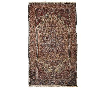 Antique Handmade Persian Sarouk Farahan Rug