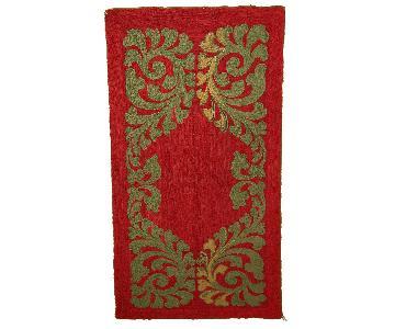 Antique Handmade American Hooked Rug