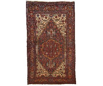 Antique Handmade Persian Bidjar Rug