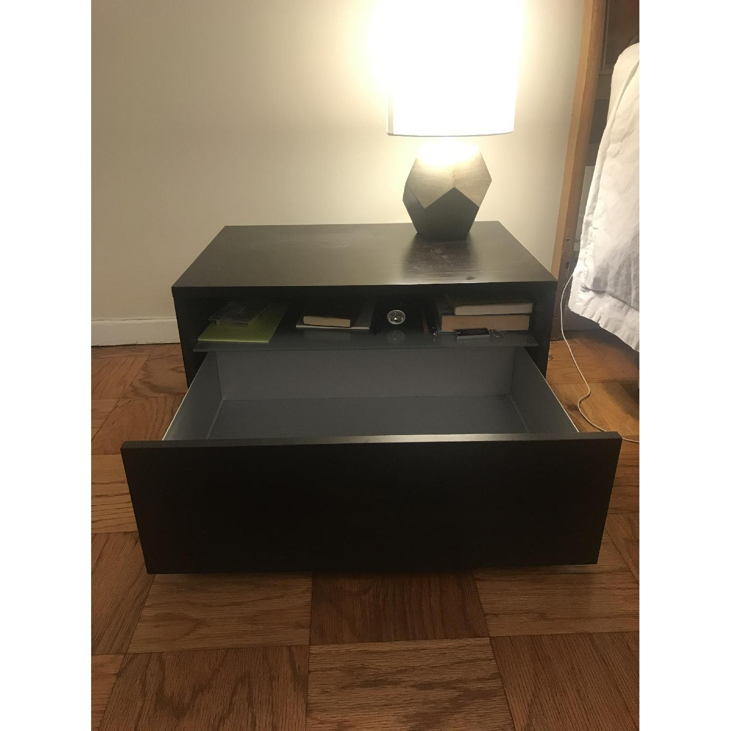 Design Within Reach Bedside Table w/ Storage Drawer - image-2