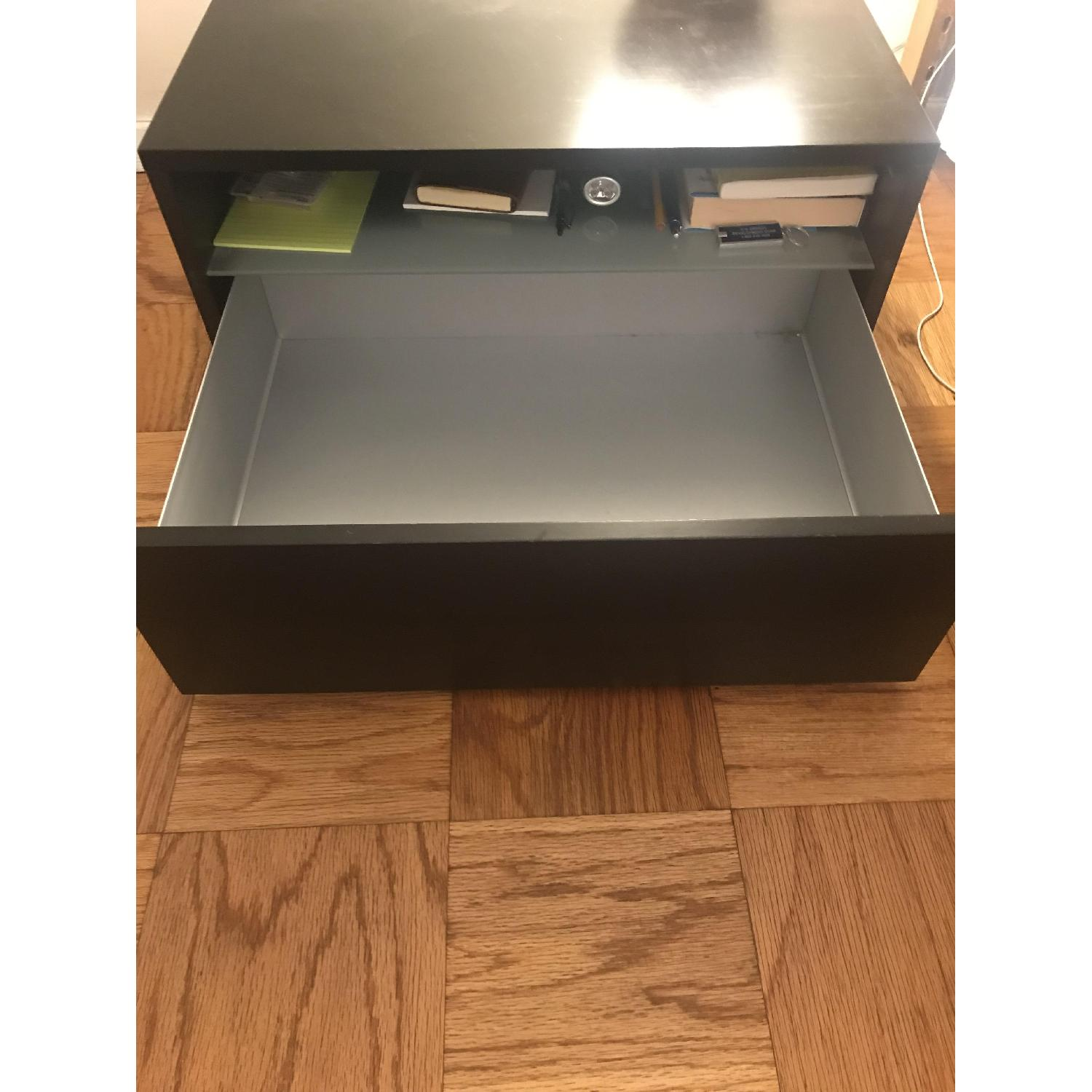 Design Within Reach Bedside Table w/ Storage Drawer - image-4