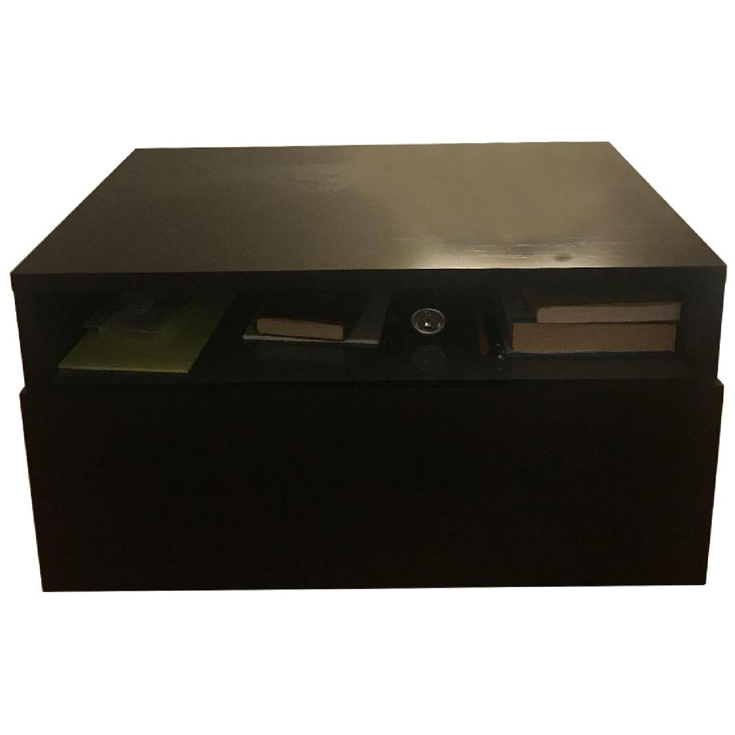 Design Within Reach Bedside Table w/ Storage Drawer - image-0