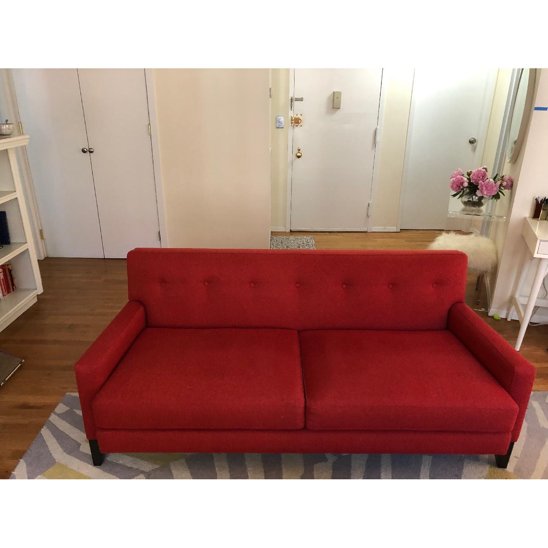 "Room & Board Mid-Century Modern 73"" Sofa - image-6"