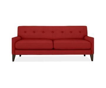 "Room & Board Mid-Century Modern 73"" Sofa"