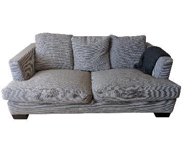 Flexform Italian Design Modern Deep-Seat Sofa