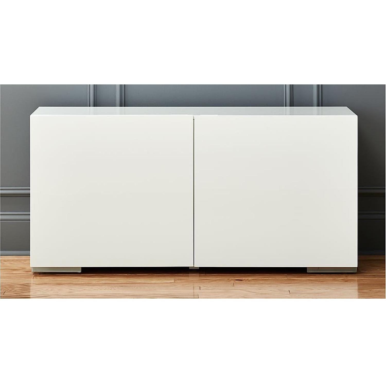 CB2 Fuel White Credenza - image-2