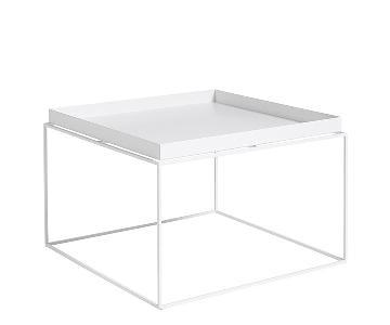 Hay Large White Tray Table