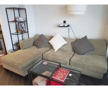 Macy's Callington 2-Piece Sectional Sofa