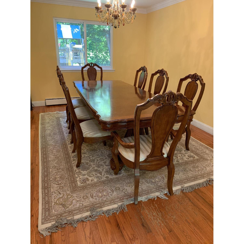 Wood 9-Piece Dining Set - image-1