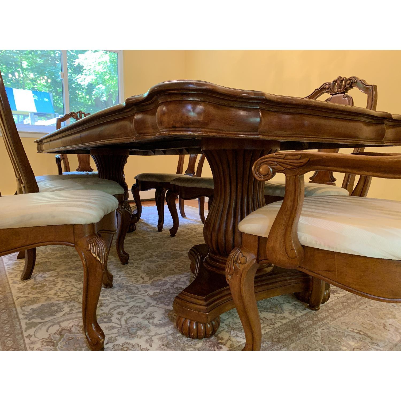 Wood 9-Piece Dining Set - image-3