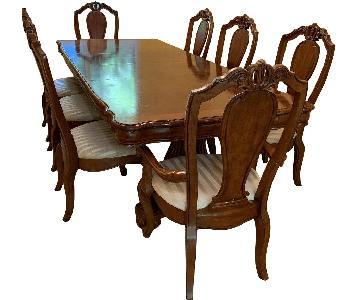 Wood 9-Piece Dining Set