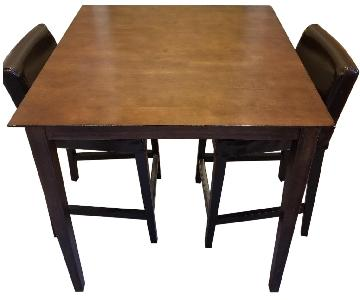 Ikea Wood 3-Piece Dining Set
