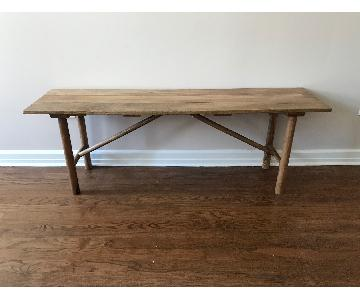 Urban Outfitters Wooden Dining Bench