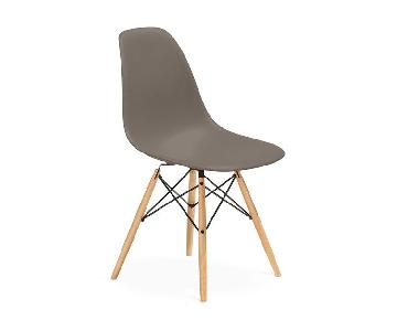 Eames Molded Plastic Dining Chairs