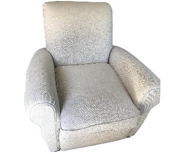 Restoration Hardware Parisian Club Recliner