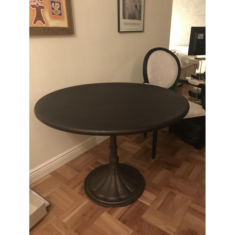 Restoration Hardware Round Brasserie Table - image-1