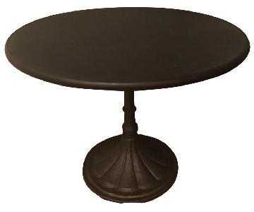 Restoration Hardware Round Brasserie Table