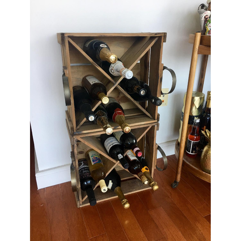 Pottery Barn Founder's Wine Storage Box - image-1
