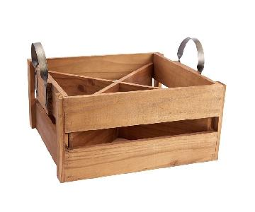 Pottery Barn Founder's Wine Storage Box