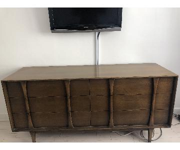 Danish Mid Century Modern Walnut Dresser