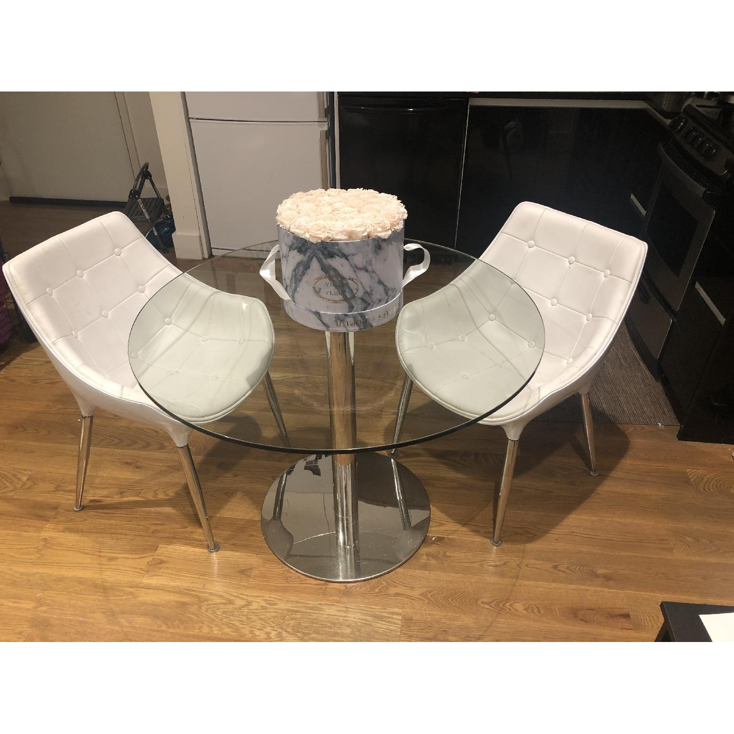 Modani Eve Dining Table w/ 2 Chairs - image-1